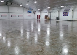 14,000 sq ft of wide open space with a newly redone ceiling!